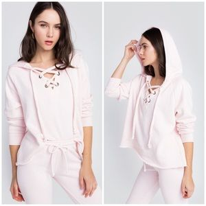 Wildfox Hutton Sweater, Pink